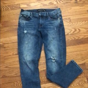 EUC Express pre/washed look skinny jeans